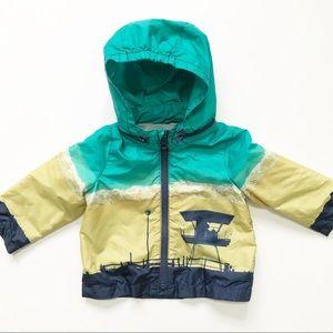 Baby Gap Beach / Lifeguard Stand Jacket 6-12 Mos